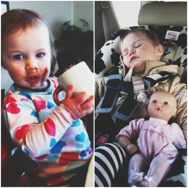 A Denver Home Companion | hot cocoa and car seat rides