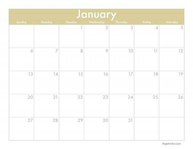 A Denver Home Companion | 2013 downloadable monthly calendar