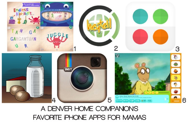 A Denver Home Companion | best iphone applications for mamas